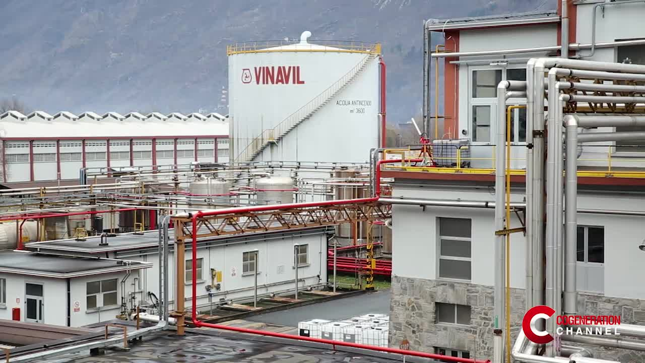 Vinavil on the front line for an efficient chemical industry