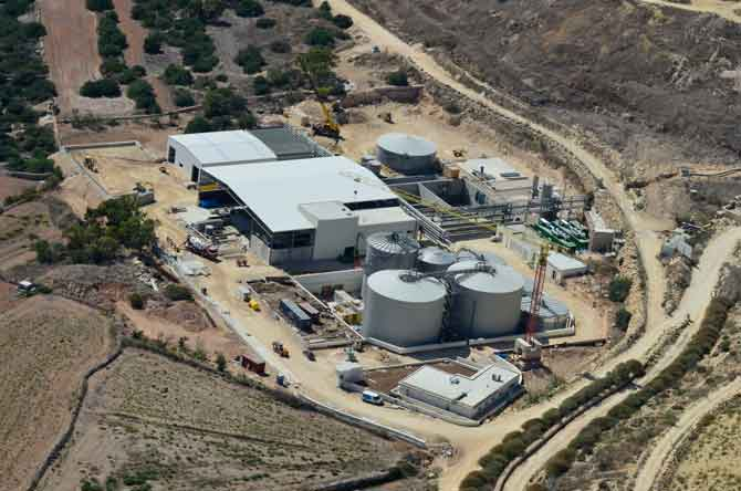 5.4 million m3 of biogas a year for the waste treatment plant in Malta