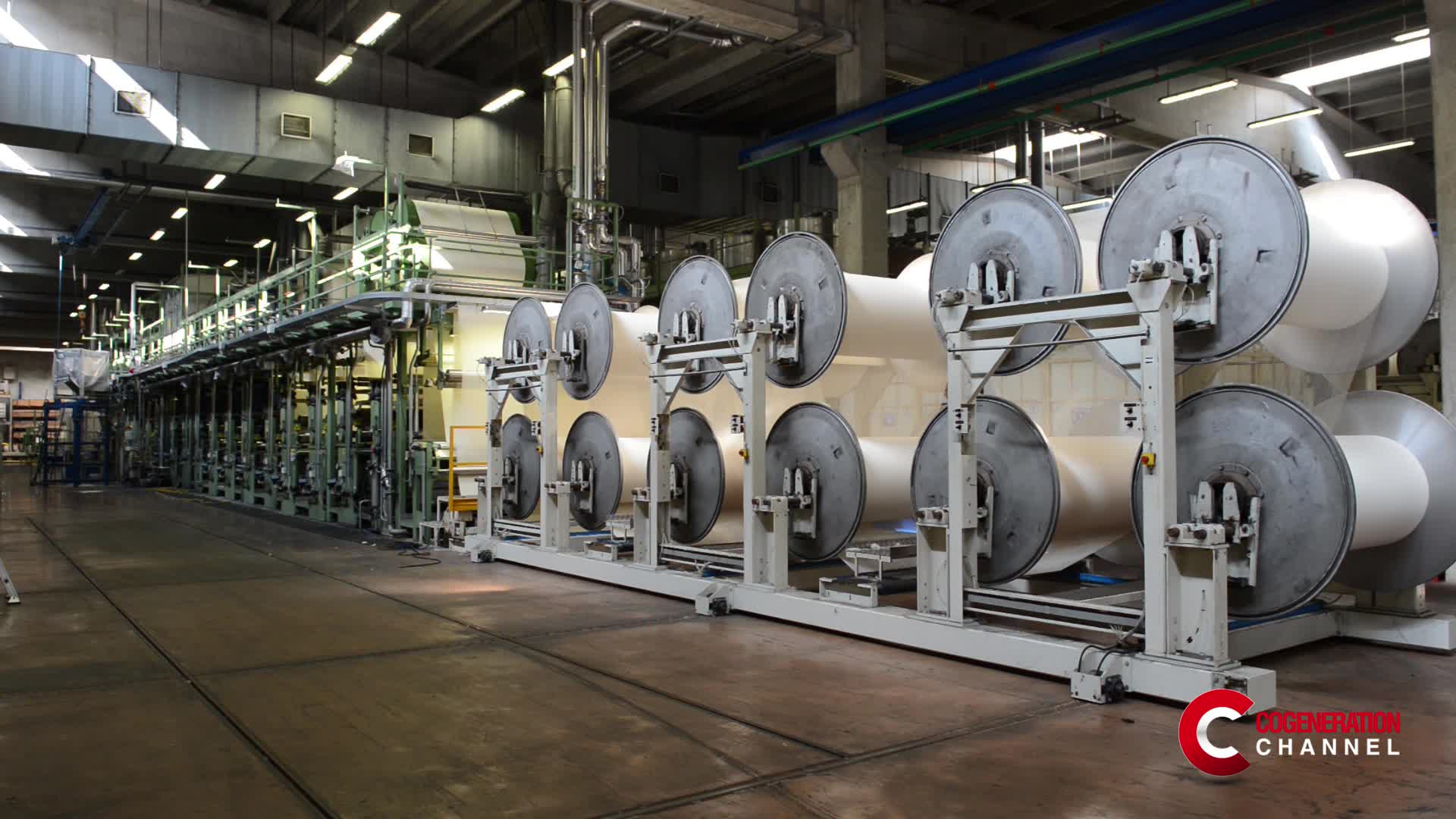 The integration of a cogeneration plant in a textile company