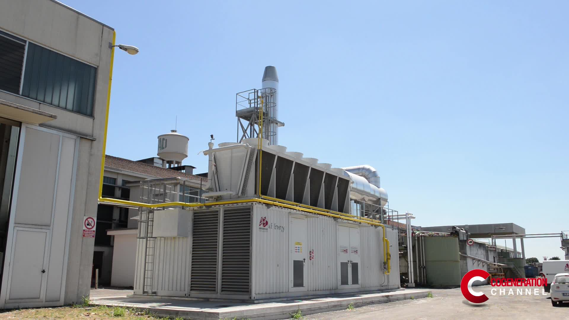 What is cogeneration? What are the advantages for industry?